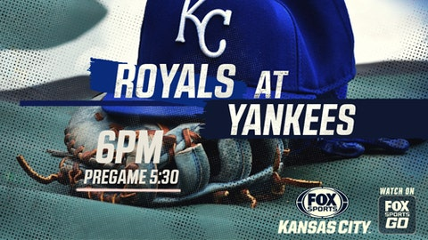 Bonifacio's Blast Isn't Enough as the KC Royals fall to Yankees