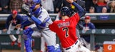 Royals can't hold late lead, fall 4-3 to Twins in extra innings