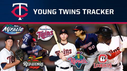 Twins turn rare triple play on ground ball