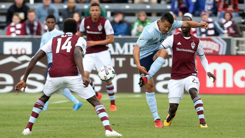 Sporting Kansas City blanked 1-0 by Rapids