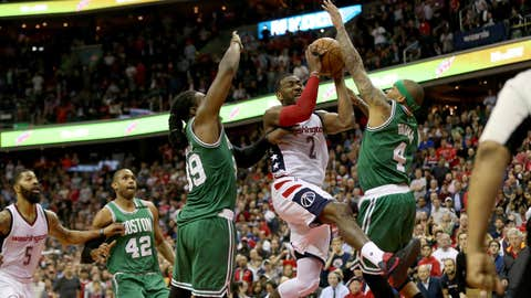 Celtics take down Wizards 115-105; now face Cavs