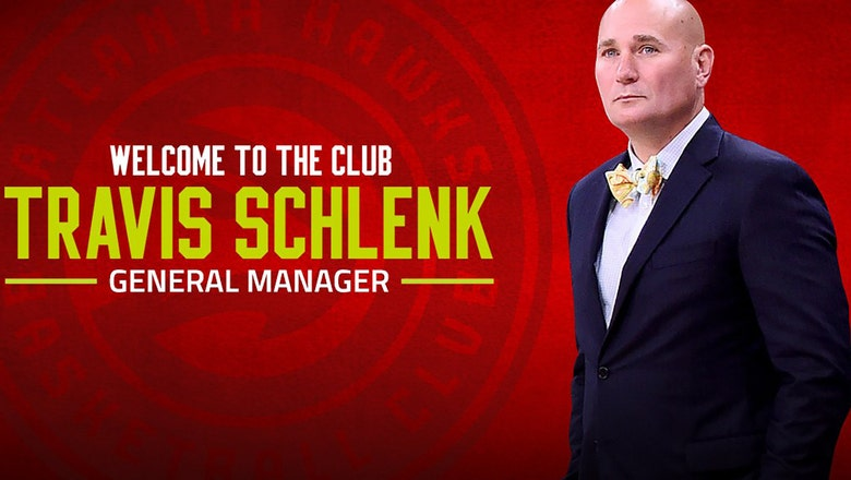 Hawks tab Warriors executive Travis Schlenk as new general manager