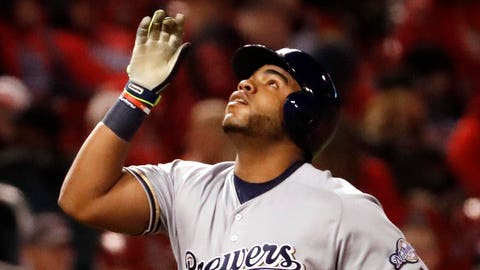 Brewers 5, Cardinals 4