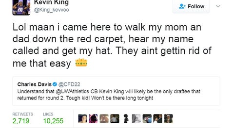 Kevin King, Packers defensive back