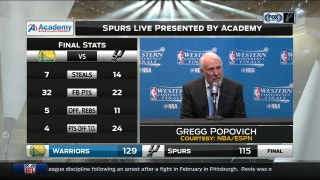 Popovich on Ginobili: 'You're not gonna get me wishy-washy here'