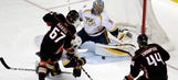 Predators LIVE to Go: Preds blow 2-0 lead, see Ducks even series at 1