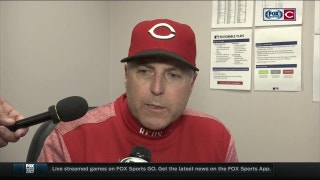 Bryan Price on Adleman's stellar start, Reds' hot bats
