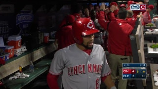 HIGHLIGHT: Billy Hamilton scores from first on single
