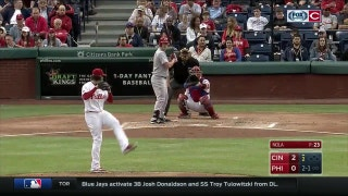 HIGHLIGHTS: Duvall, Schebler go deep in Reds win