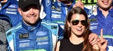 Ricky Stenhouse Jr., Danica Patrick went to the dogs in Victory Lane