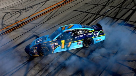5 important things Ricky Stenhouse Jr. said after his first career win