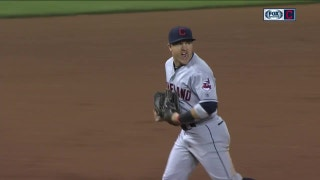 HIGHLIGHT: Daniel Robertson throws out tying run at home in the 8th