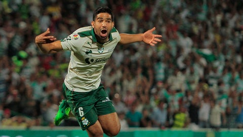 Santos Laguna (25 points, +5 goal differential)
