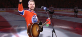 Fans in Edmonton sing American anthem after microphone malfunctions