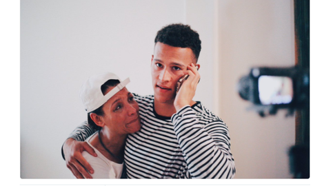 Angela Means and Brad Kaaya