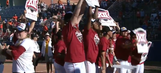 WATCH: Oklahoma Softball wins another Big 12 title