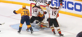 P.K. Subban accidentally tips puck into own net, Predators lose to Ducks in OT of Game 4