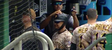The Pirates taped Joey Cora's helmet to his head so he wouldn't forget to wear it