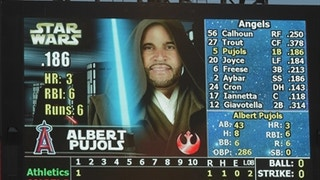 Throwback Thursday: Angels celebrate Star Wars Night in 2015