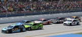 Top 10 drivers after Stage 2 in GEICO 500 at Talladega