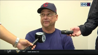 Terry Francona is glad he didn't give Edwin the day off