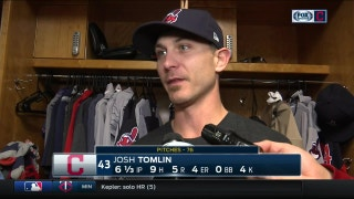 Josh Tomlin blames himself for Indians' loss to Reds