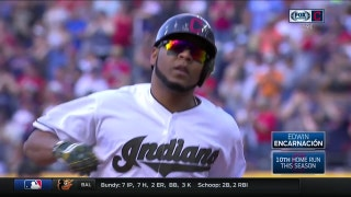 HIGHLIGHTS: Jackson, Santana, Encarnacion go deep in Indians' win