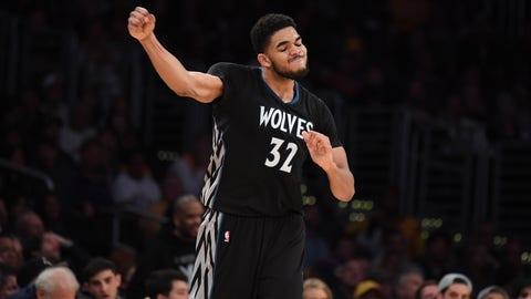 Minnesota Timberwolves: 5.3 percent chance