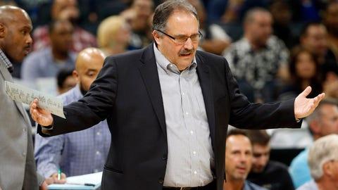 Detroit Pistons: 0.7 percent chance