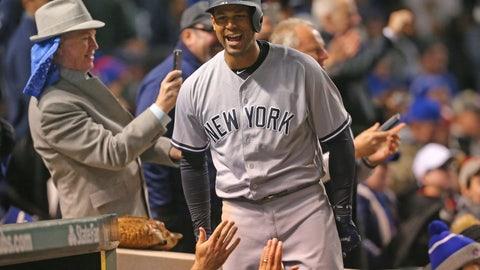 "Aaron Hicks (Yankees): Mark Morrison ""Return of the Mack"""