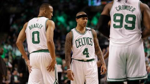 1. Boston Celtics (via Brooklyn Nets, 20-62): 25.0 percent