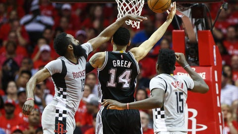 Spurs roll over Rockets, into conference finals