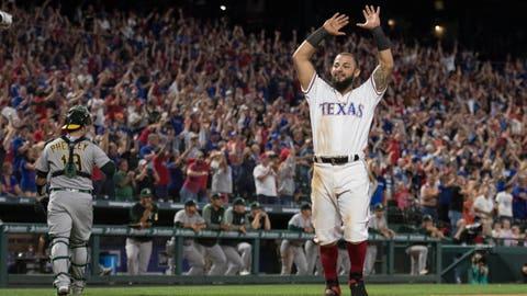 Texas Rangers (19-20)