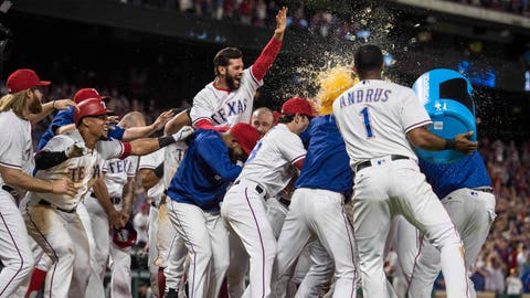 Darvish pitches Rangers to seventh straight victory