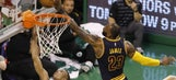 Cavs charge out to largest halftime lead in NBA playoff history