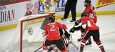 Sidney Crosby helps resurgent Penguins beat Senators, tie series 2-2