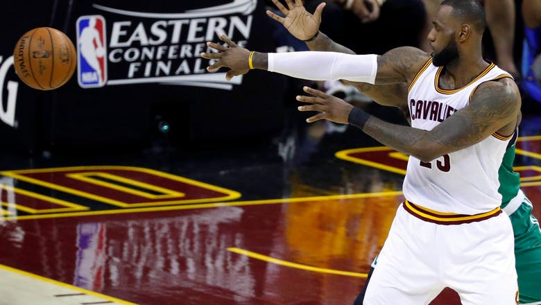 LeBron's frustration evident after one of his worst playoff performances