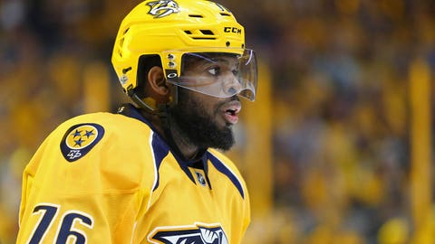 Late goals lift Penguins in Stanley Cup opener
