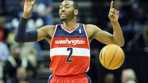 G, third team: John Wall, Washington Wizards