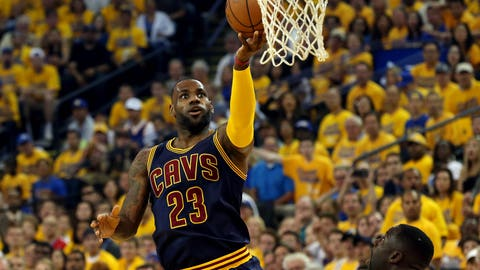 LeBron James 'feels good' about his Cavs chances to beat the Warriors
