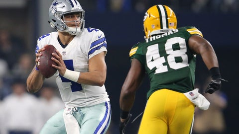 Without a stellar defense, Dallas will need Dak to be great once again
