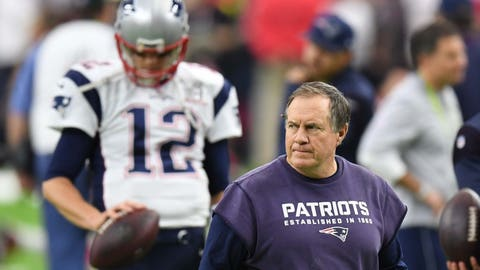 Bill Belichick and Tom Brady are on a collision course