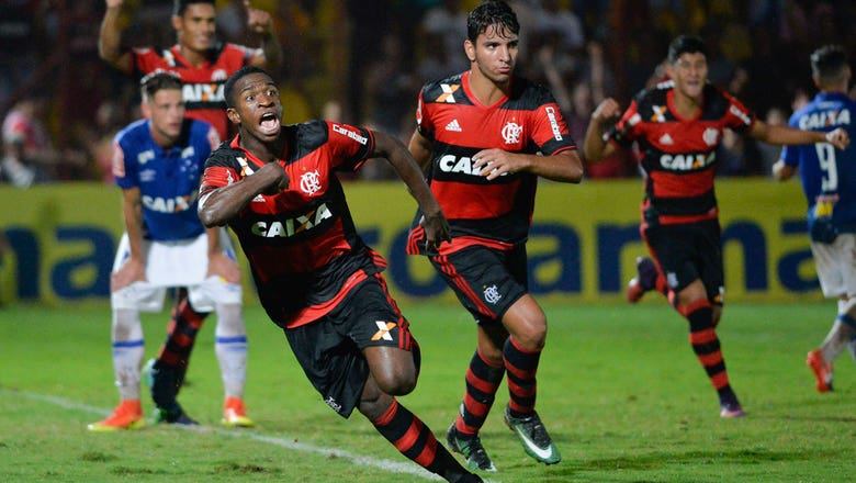 Brazil's next big thing, or cautionary tale? Vinicius Junior enters familiar spotlight