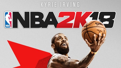 Kyrie Irving to grace the cover of National Basketball Association 2K18