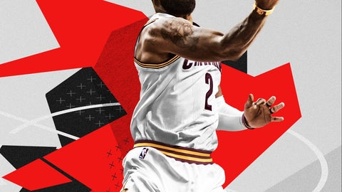 Kyrie Irving announced as National Basketball Association 2K18 cover athlete