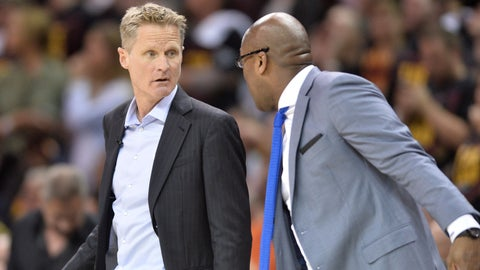 Steve Kerr's worst instinct almost got the best of the Warriors