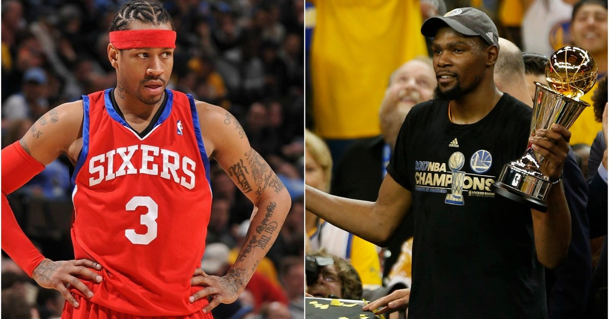 Allen Iverson explains why he rooted for Kevin Durant to win the 2017 NBA title