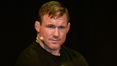 Retired UFC champ Hughes injured in train accident