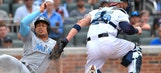 Marlins slip up in 9th, fall to Braves in 10th