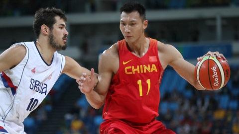 2007 -- Milwaukee Bucks : Yi Jianlian (F), China
